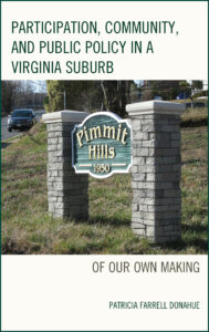 Participation, Community, and Public Policy in a Virginia Suburb (Cover)